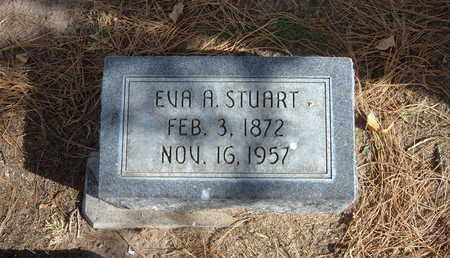 STUART, EVA A - Stevens County, Kansas | EVA A STUART - Kansas Gravestone Photos