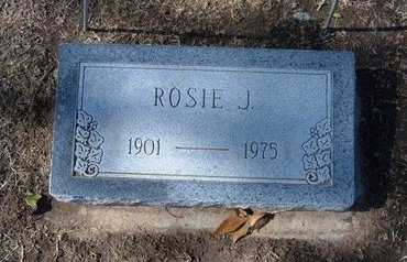 SULLIVAN, ROSIE J - Stevens County, Kansas   ROSIE J SULLIVAN - Kansas Gravestone Photos