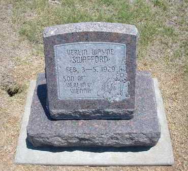 SWAFFORD, VERLIN WAYNE - Stevens County, Kansas   VERLIN WAYNE SWAFFORD - Kansas Gravestone Photos