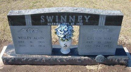 SWINNEY, WESLEY ALVIN - Stevens County, Kansas   WESLEY ALVIN SWINNEY - Kansas Gravestone Photos