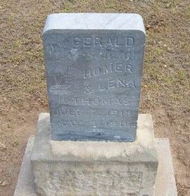THOMAS, GERALD - Stevens County, Kansas | GERALD THOMAS - Kansas Gravestone Photos