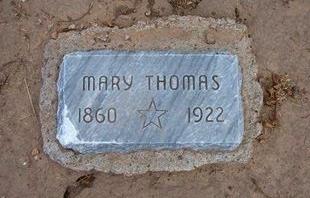 THOMAS, MARY - Stevens County, Kansas | MARY THOMAS - Kansas Gravestone Photos