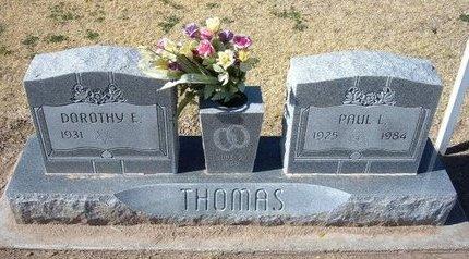 THOMAS, PAUL L (VETERAN WWII) - Stevens County, Kansas | PAUL L (VETERAN WWII) THOMAS - Kansas Gravestone Photos