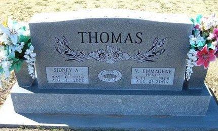 "THOMAS, SIDNEY ADELBERT ""SID"" - Stevens County, Kansas | SIDNEY ADELBERT ""SID"" THOMAS - Kansas Gravestone Photos"
