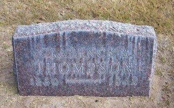 THOMPSON, CLARENCE A - Stevens County, Kansas | CLARENCE A THOMPSON - Kansas Gravestone Photos