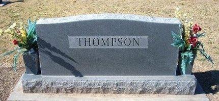 THOMPSON, FAMILY STONE - Stevens County, Kansas   FAMILY STONE THOMPSON - Kansas Gravestone Photos