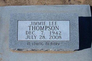 THOMPSON, JIMMIE LEE - Stevens County, Kansas | JIMMIE LEE THOMPSON - Kansas Gravestone Photos