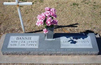 "THOMPSON, GLENN DANIEL ""DANNIE""   (VETERAN WWII) - Stevens County, Kansas   GLENN DANIEL ""DANNIE""   (VETERAN WWII) THOMPSON - Kansas Gravestone Photos"