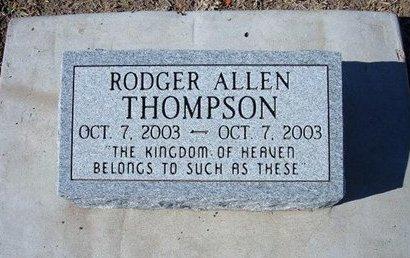 THOMPSON, RODGER ALLEN - Stevens County, Kansas   RODGER ALLEN THOMPSON - Kansas Gravestone Photos