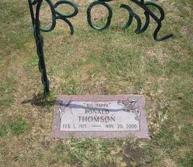 THOMSON, RONALD - Stevens County, Kansas   RONALD THOMSON - Kansas Gravestone Photos