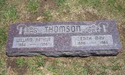 THOMSON, WILLIAM ARTHUR - Stevens County, Kansas | WILLIAM ARTHUR THOMSON - Kansas Gravestone Photos