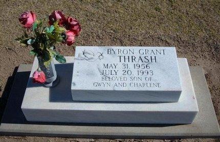THRASH, BYRON GRANT - Stevens County, Kansas | BYRON GRANT THRASH - Kansas Gravestone Photos