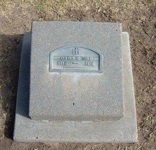 TOLBERT, CLAY E - Stevens County, Kansas   CLAY E TOLBERT - Kansas Gravestone Photos