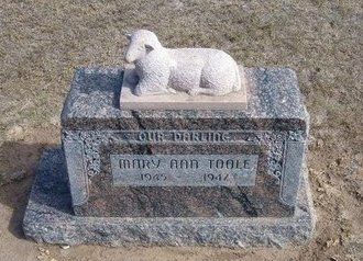 TOOLE, MARY ANN - Stevens County, Kansas   MARY ANN TOOLE - Kansas Gravestone Photos