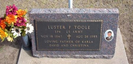 TOOLE, LUSTER F   (VETERAN VIET) - Stevens County, Kansas | LUSTER F   (VETERAN VIET) TOOLE - Kansas Gravestone Photos