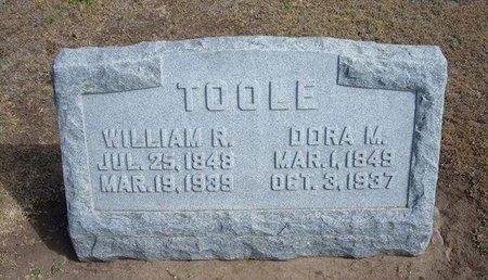 TOOLE, DORA M - Stevens County, Kansas | DORA M TOOLE - Kansas Gravestone Photos