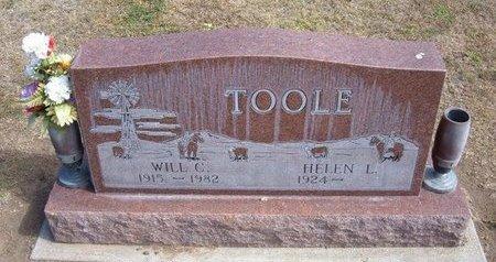 TOOLE, WILL C - Stevens County, Kansas   WILL C TOOLE - Kansas Gravestone Photos