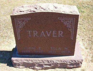HOHN TRAVER, ELLA MAY - Stevens County, Kansas | ELLA MAY HOHN TRAVER - Kansas Gravestone Photos