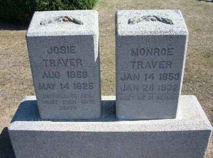 TRAVER, MONROE - Stevens County, Kansas | MONROE TRAVER - Kansas Gravestone Photos