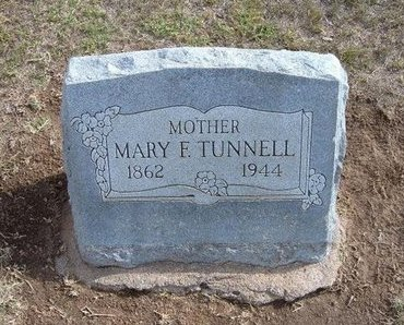 RAGSDALE TUNNELL, MARY FRANCES - Stevens County, Kansas | MARY FRANCES RAGSDALE TUNNELL - Kansas Gravestone Photos