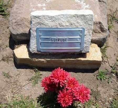 UNKNOWN, GERTRUDE - Stevens County, Kansas | GERTRUDE UNKNOWN - Kansas Gravestone Photos