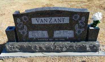 VANZANT, HAZEL EUNICE - Stevens County, Kansas | HAZEL EUNICE VANZANT - Kansas Gravestone Photos