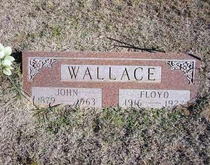 WALLACE, JOHN - Stevens County, Kansas | JOHN WALLACE - Kansas Gravestone Photos