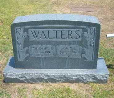 PETERSON WALTERS, ADELIADE I - Stevens County, Kansas | ADELIADE I PETERSON WALTERS - Kansas Gravestone Photos
