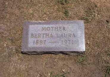 MILLER WARD, BERTHA LAURA - Stevens County, Kansas | BERTHA LAURA MILLER WARD - Kansas Gravestone Photos
