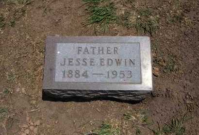 WARD, JESSE EDWIN - Stevens County, Kansas | JESSE EDWIN WARD - Kansas Gravestone Photos