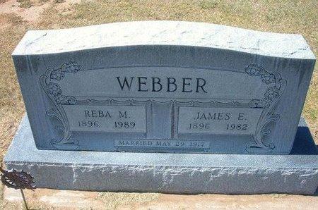 WEBBER, JAMES EDWIN - Stevens County, Kansas | JAMES EDWIN WEBBER - Kansas Gravestone Photos