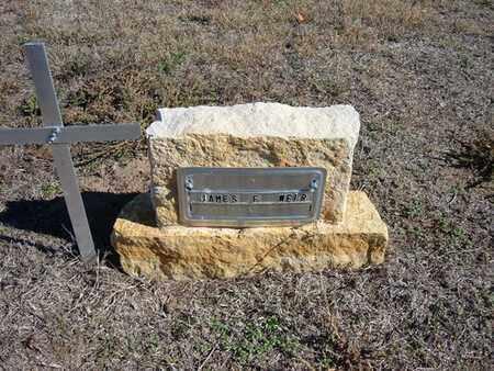 WEIR, JAMES FERGUS - Stevens County, Kansas | JAMES FERGUS WEIR - Kansas Gravestone Photos
