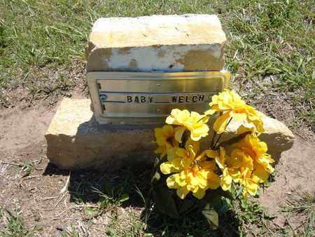 WELCH, BABY - Stevens County, Kansas   BABY WELCH - Kansas Gravestone Photos