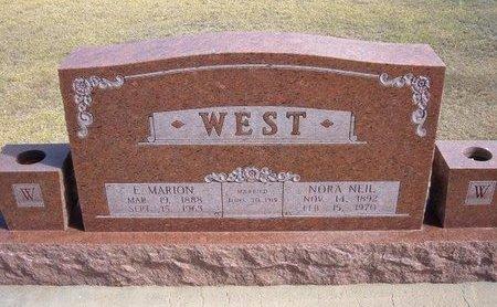WEST, NORMA NEIL - Stevens County, Kansas   NORMA NEIL WEST - Kansas Gravestone Photos