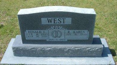 WEST, RONALD E - Stevens County, Kansas | RONALD E WEST - Kansas Gravestone Photos