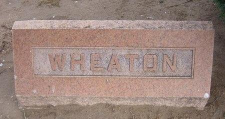 WHEATON, FAMILY STONE - Stevens County, Kansas   FAMILY STONE WHEATON - Kansas Gravestone Photos
