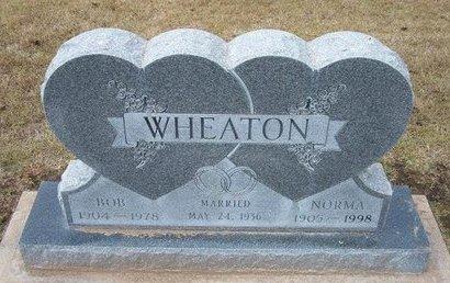 "WHEATON, JOHN ROBERT ""BOB"" - Stevens County, Kansas   JOHN ROBERT ""BOB"" WHEATON - Kansas Gravestone Photos"