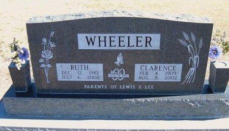 WHEELER, CLARENCE HENRY - Stevens County, Kansas | CLARENCE HENRY WHEELER - Kansas Gravestone Photos