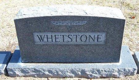 WHETSTONE, FAMILY STONE - Stevens County, Kansas   FAMILY STONE WHETSTONE - Kansas Gravestone Photos
