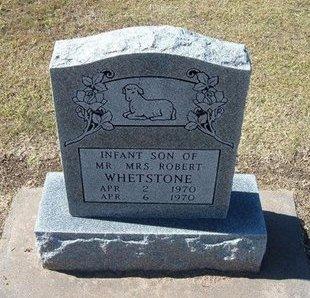 WHETSTONE, INFANT SON - Stevens County, Kansas | INFANT SON WHETSTONE - Kansas Gravestone Photos