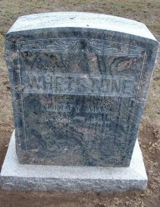 WHETSTONE, LEEFY MAY - Stevens County, Kansas | LEEFY MAY WHETSTONE - Kansas Gravestone Photos
