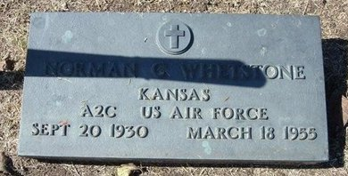 WHETSTONE, NORMAN CARL   (VETERAN) - Stevens County, Kansas | NORMAN CARL   (VETERAN) WHETSTONE - Kansas Gravestone Photos