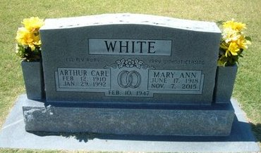 WHITE, MARY ANN - Stevens County, Kansas | MARY ANN WHITE - Kansas Gravestone Photos