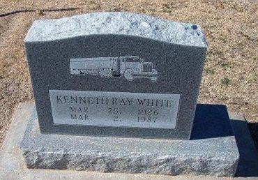 WHITE, KENNETH RAY - Stevens County, Kansas   KENNETH RAY WHITE - Kansas Gravestone Photos