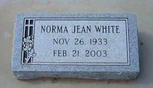 WHITE, NORMA JEAN - Stevens County, Kansas   NORMA JEAN WHITE - Kansas Gravestone Photos