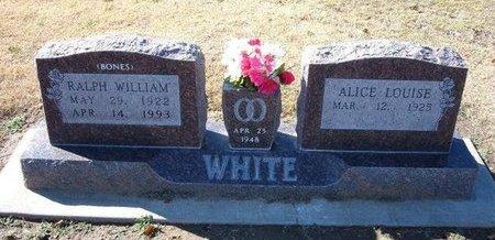 WHITE, RALPH WILLIAM - Stevens County, Kansas | RALPH WILLIAM WHITE - Kansas Gravestone Photos