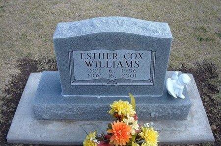 WILLIAMS, ESTHER - Stevens County, Kansas   ESTHER WILLIAMS - Kansas Gravestone Photos