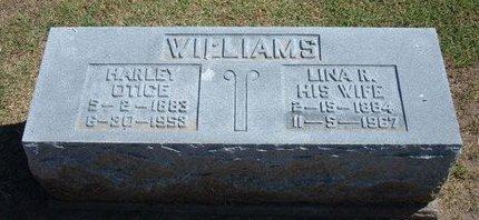 WILLIAMS, HARLEY OTICE - Stevens County, Kansas | HARLEY OTICE WILLIAMS - Kansas Gravestone Photos