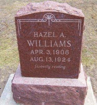 WILLIAMS, HAZEL A - Stevens County, Kansas | HAZEL A WILLIAMS - Kansas Gravestone Photos