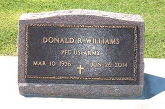WILLIAMS, DONALD R (VETERAN) - Stevens County, Kansas   DONALD R (VETERAN) WILLIAMS - Kansas Gravestone Photos